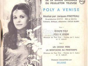 Réjane, une jeune chanteuse française qui a principalement sévi de 1968 à 1970, elle meurt le 21 décembre 2019
