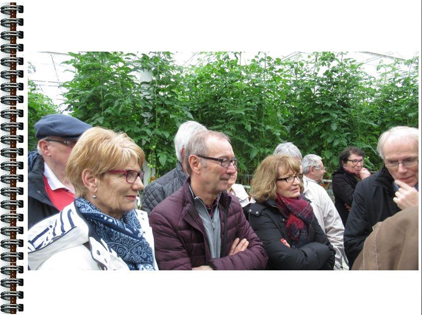 12 Mars 2017:  visite  à  Bouaye  des  serres  de  JP  Rétière..