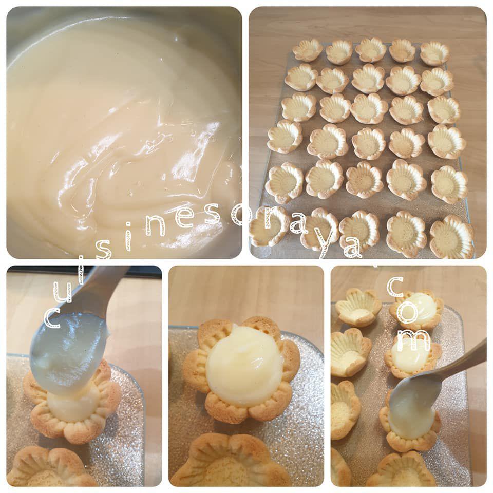 Mini tartelettes aux fruits sans beurre