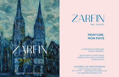 Vernissage de l'exposition Schraga Zarfin