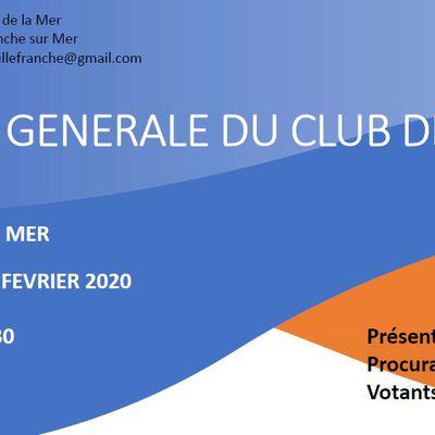PV ASSEMBLEE GENERALE DU 15 FEVRIER 2020