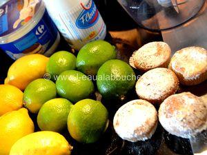 Mousse Aux Deux Citrons