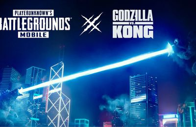 GODZILLA VS. KONG disponible maintenant dans la version 1.4 DE PUBG MOBILE