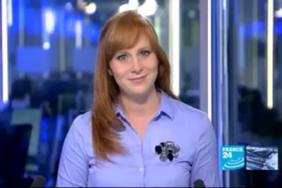 2012 01 11 @06H30 - CATHERINE NICHOLSON, FRANCE 24, THE NEWS