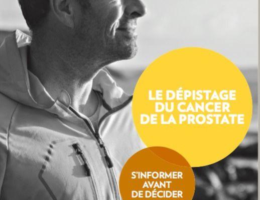 Dépistage du cancer de la prostate.. quoi dire aux patients