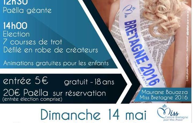 Election Miss Centre Bretagne 2017