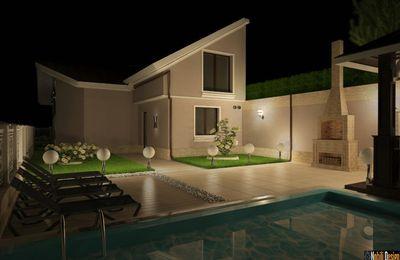 Design interior exterior casa stil clasic cu mansarda Targu Mures