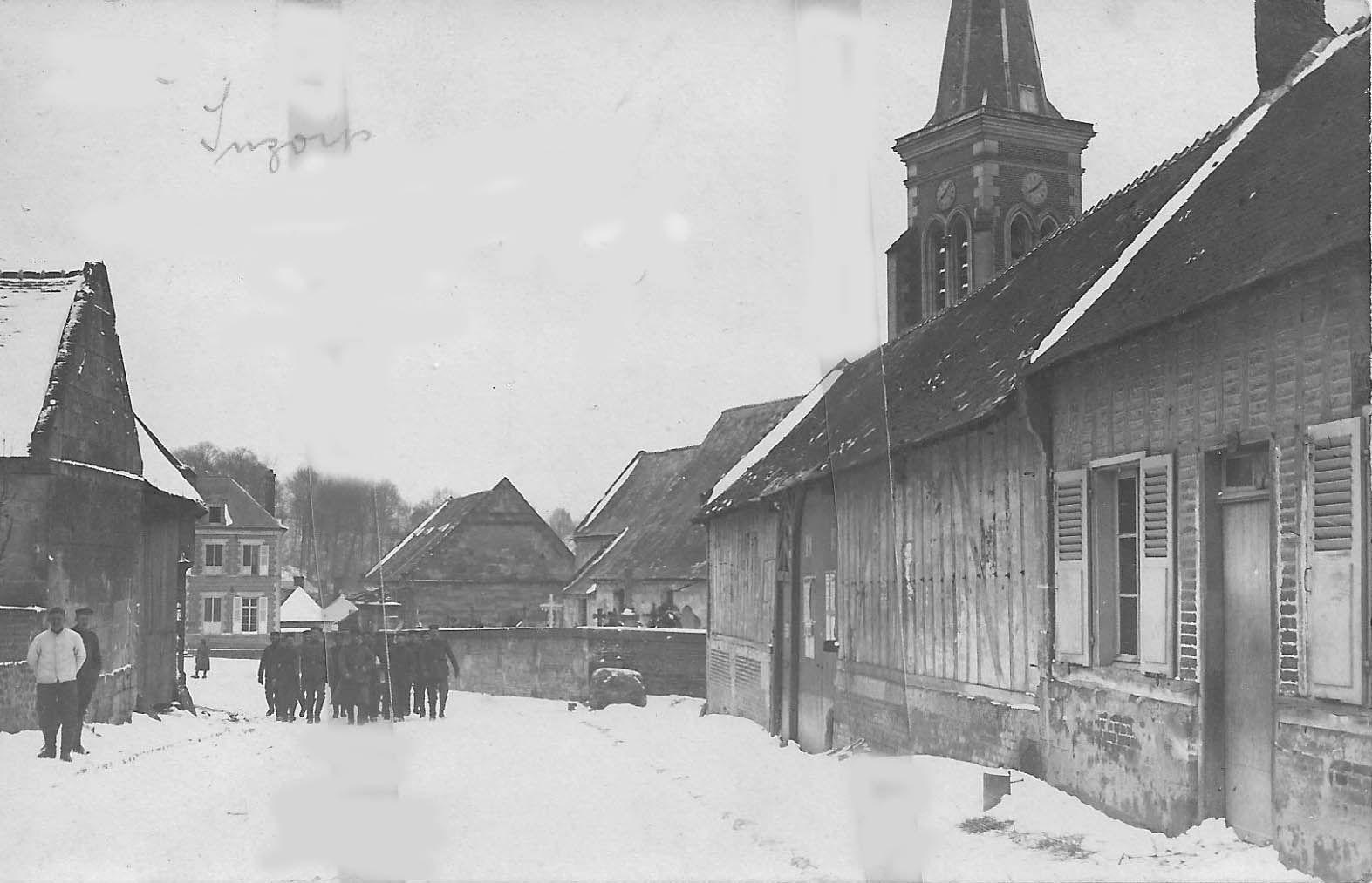 Album - le village de Suzoy (Oise), les rues et routes