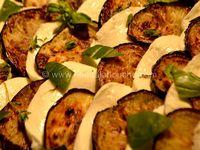 Aubergines-Mozzarella