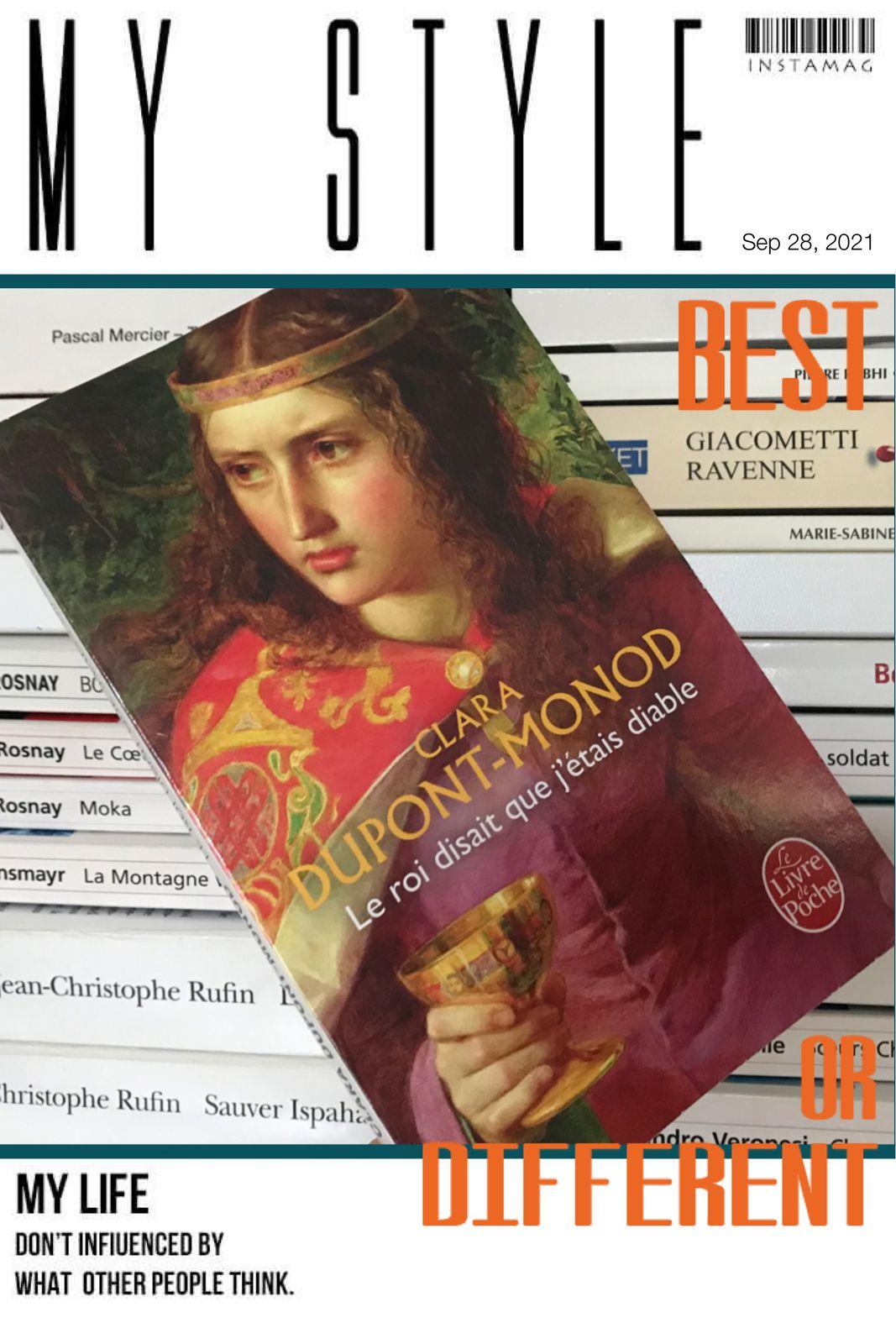 Le roi disait que j'étais diable de Clara DUPONT-MONOD