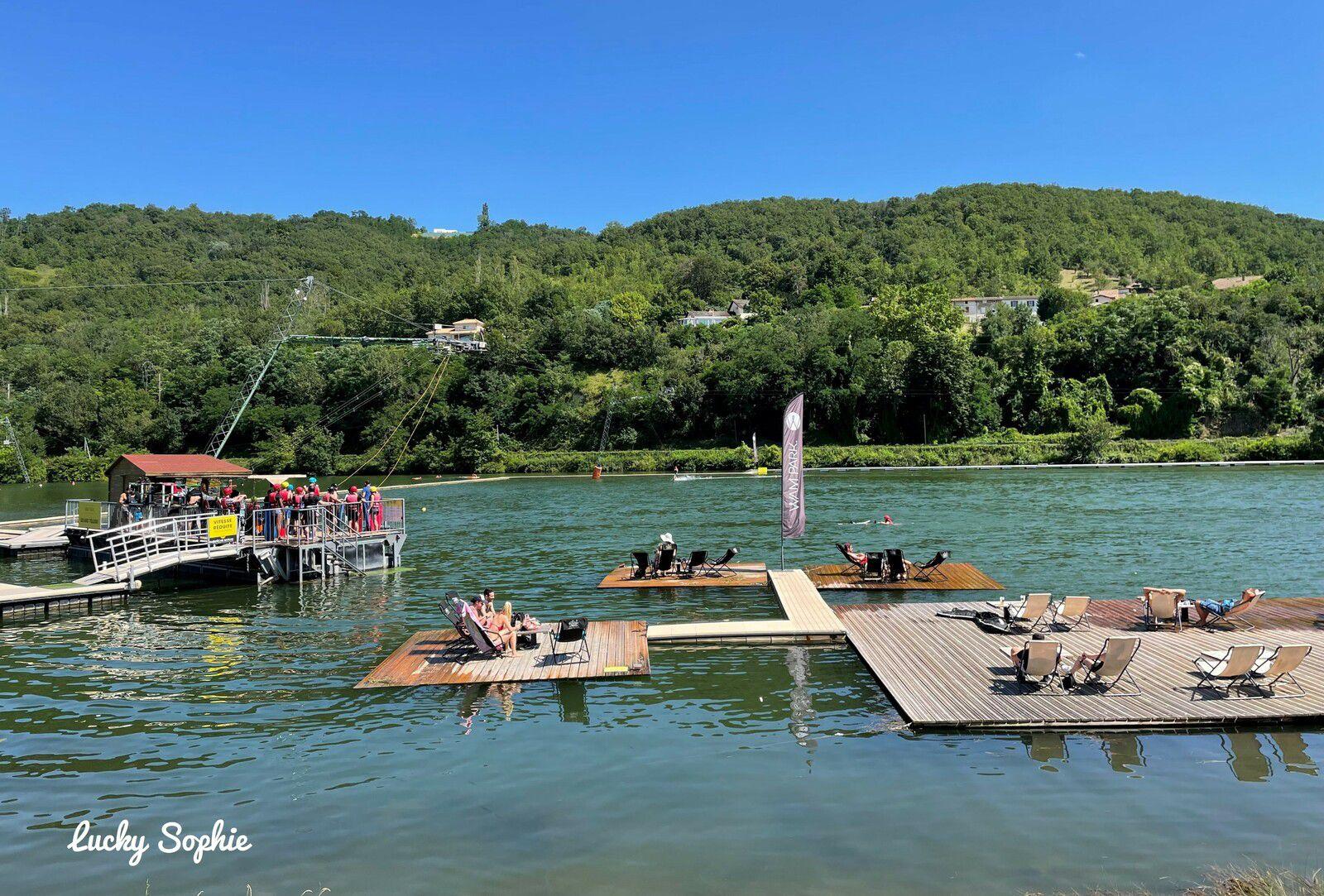 Wam Park Lyon Condrieu, super base nautique de loisirs !