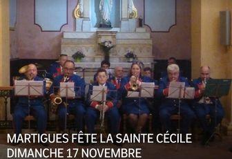 MARTIGUES FÊTE LA SAINTE CÉCILE DIMANCHE 17 NOVEMBRE