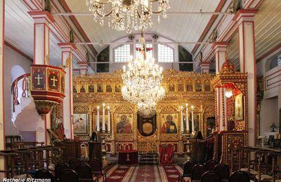 Aya Paraskevi à Hasköy, seule église de la communauté roumaine en Turquie