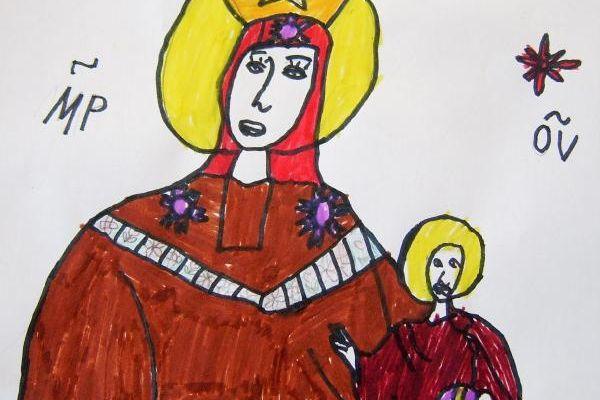 Icoana Maicii Domnului cu Pruncul