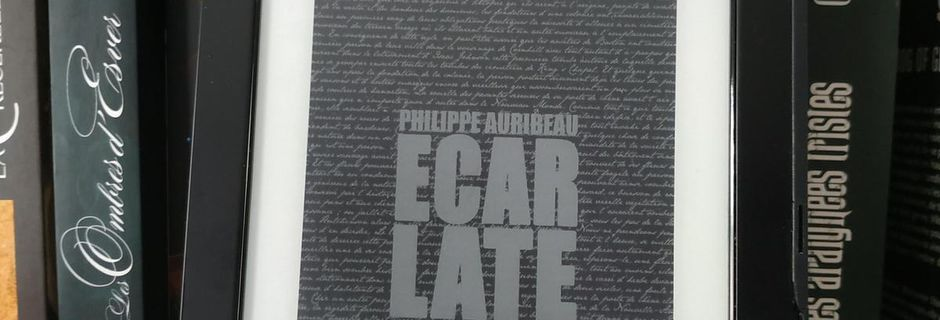 ÉCARLATE de Philippe Auribeau éditions ActuSF