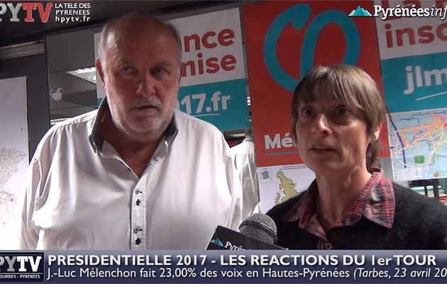 HPyTv Présidentielle | Réaction de La France Insoumise 65 au 1er tour (23 avril 2017)