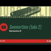 Summertime (take 2) - Paul Lassey - Harmonica D / Ré