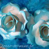 Comment faire une rose avec des perforatrices? - Créer Soi Même