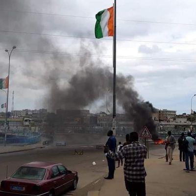 Manifestation pour la réintegration du nom du président Laurent Gbagbo sur la liste électorale, voici l'origine de la violence