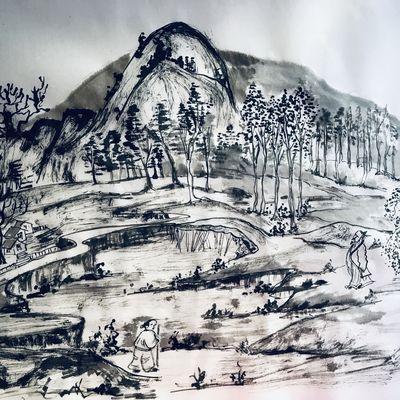 Peinture Chinoise J15