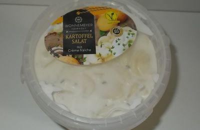 Aldi Wonnemeyer Kartoffel Salat mit Creme fraiche