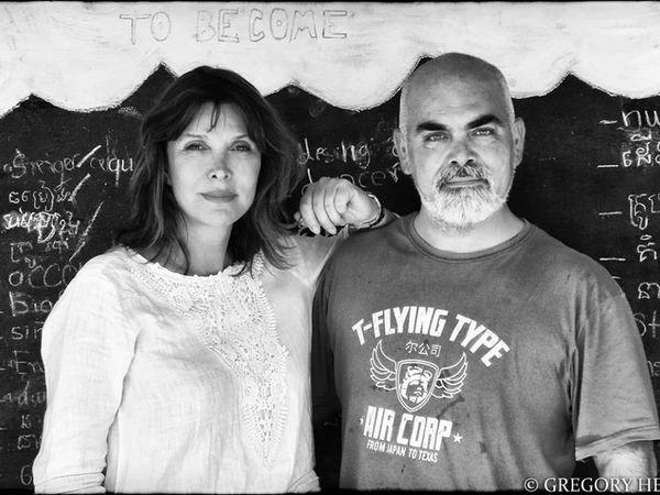 Tina Kieffer  et Gregory Herpe