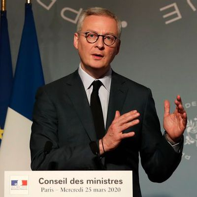 Avec Le Maire...on se marre