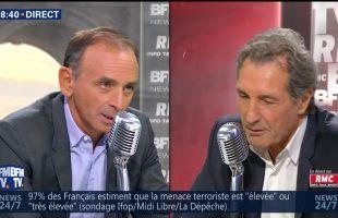 Eric Zemmour face à Jean-Jacques Bourdin