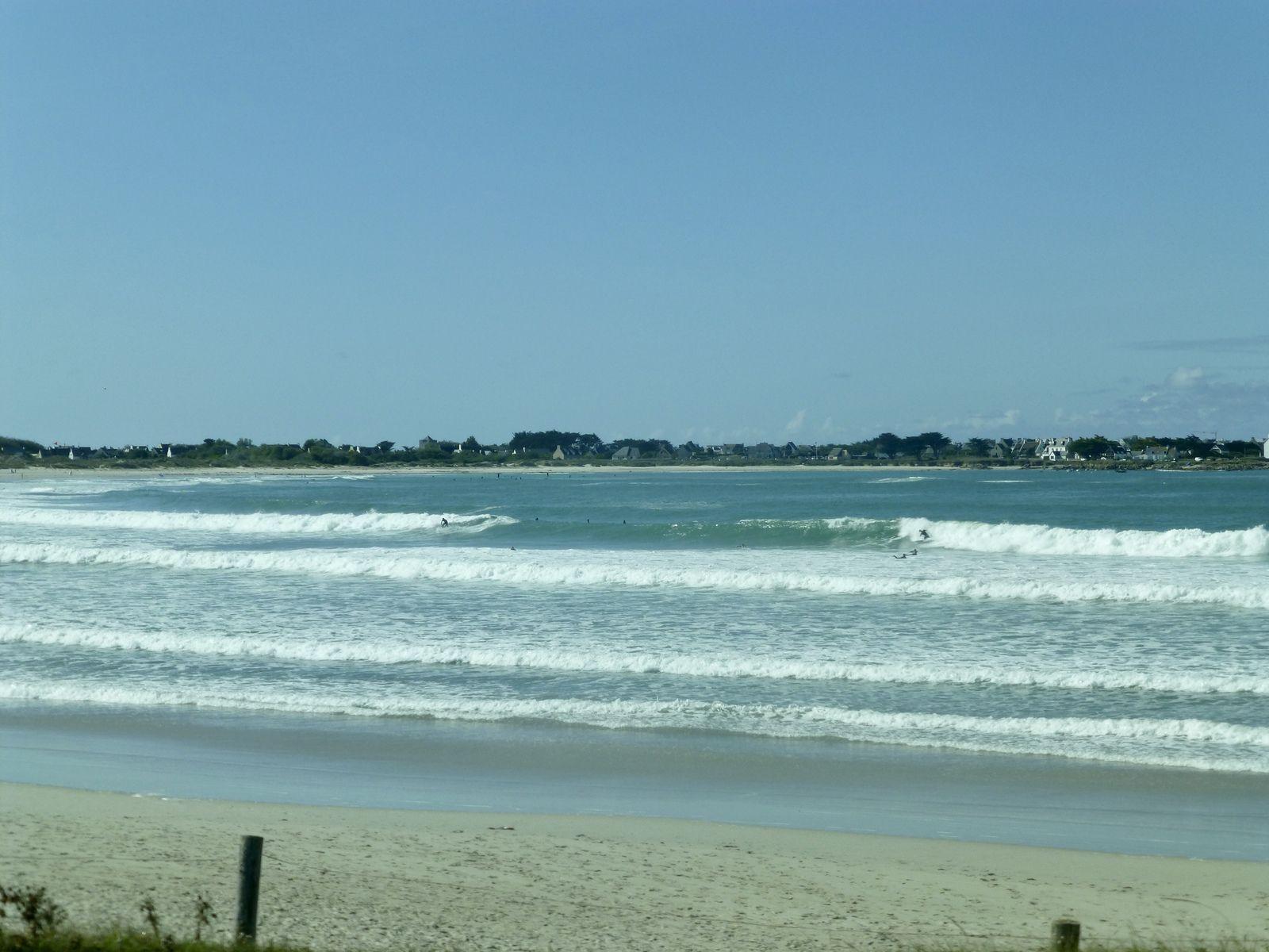 Une belle journée pendant laquelle j'ai profité de la campagne et de l'océan sous un soleil d'été!!