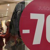 Les bonnes affaires des soldes belges - Le journal de 13h   TF1