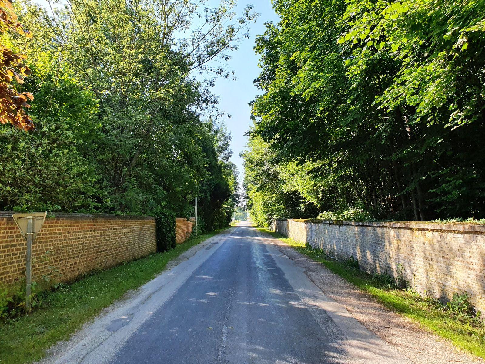 Rue du Moulin, à Dienville