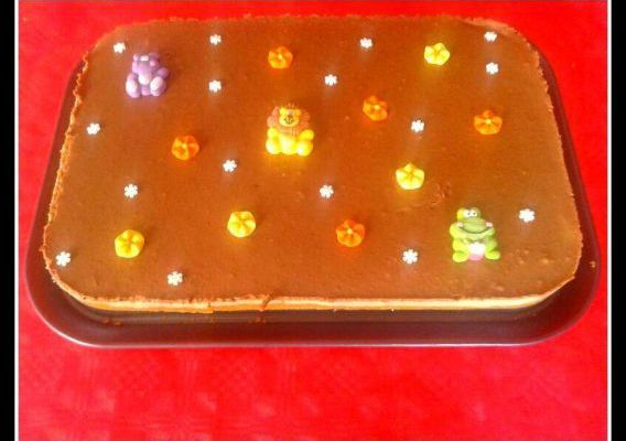 Tarta kinder y chocolate