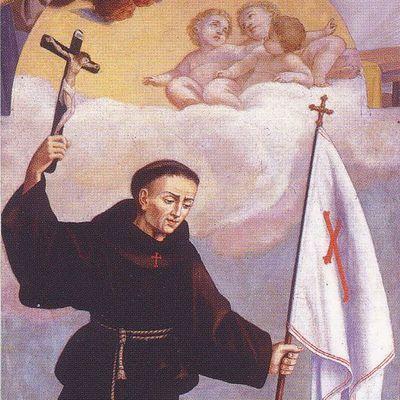 Vie & coloriages de saint Jean de Capistran
