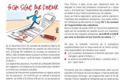 Contrat Prévoyance : Maintien du niveau des prestations !