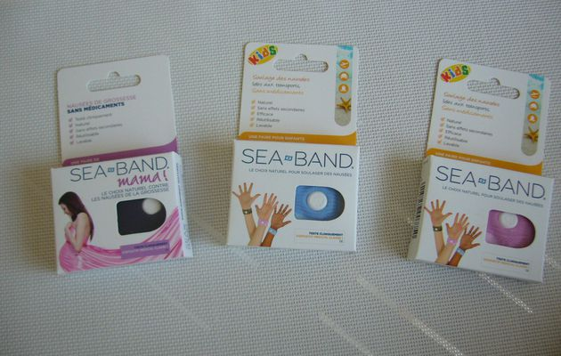 La solution au mal des transports avec les bracelets SEA-BAND