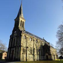 Eglise Saint louis , Uza ( Landes 40 ) A