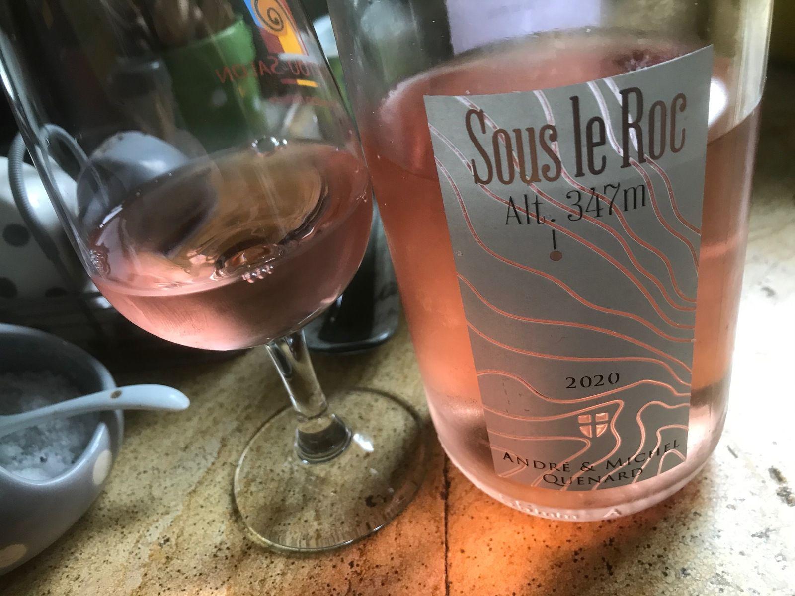 Rosés de Savoie et gris du Vendômois en petites lampées, pour faire venir l'été ...