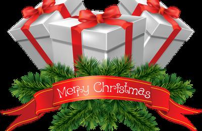 Merry Christmas - Cadeaux - Branches - Sapin - Render-Tube - Gratuit