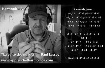 La valse des nuages - Paul Lassey - Harmonica A