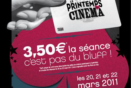 LE PRINTEMPS DU CINEMA 2011