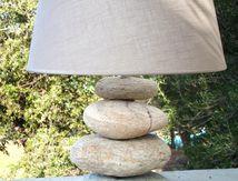 Lampe Petra di Mare (galets)