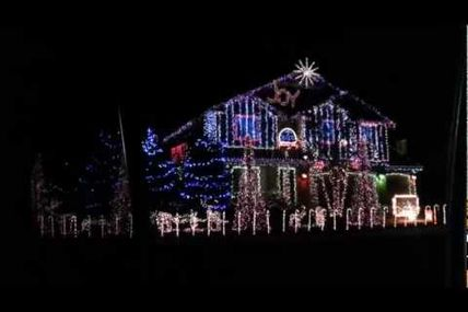 Dubstep Christmas lights full intro