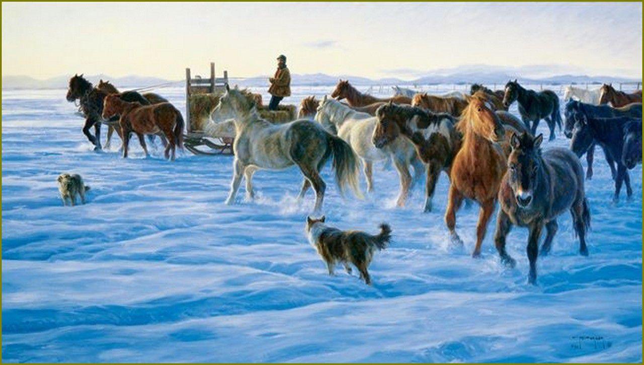 Les chevaux par les peintres  -  Robert Duncan