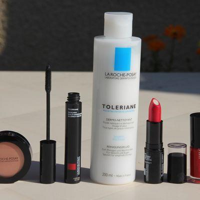 La découverte de la routine soin et maquillage Tolériane de La Roche-Posay.