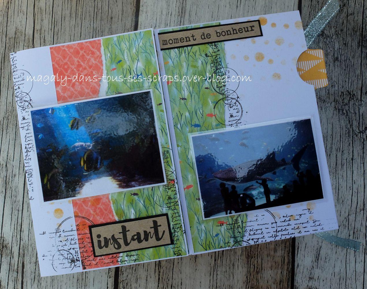 Mini-album {Aquarium}
