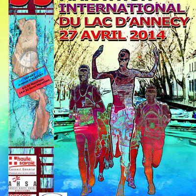 Marathon du lac d'Annecy 27 avril 2014
