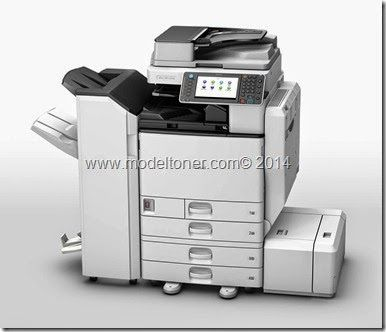 Fotocopiadora Ricoh Aficio MPC 3002. Sistema a 30 ppm