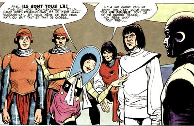 Vagabond of Limbo characters : Axle's merry men