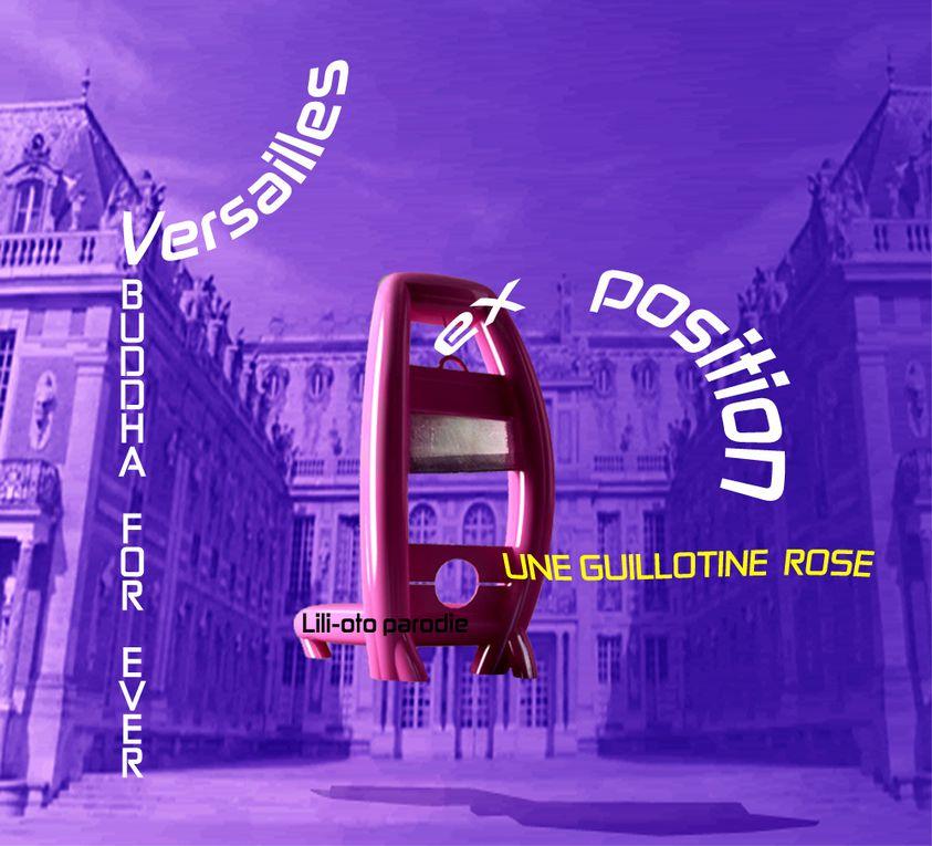exposition au château de Versailles, artiste, culture et art, parodie, sculpture (œuvre), Buddha for ever ou bouddha pour toujours, lili-oto