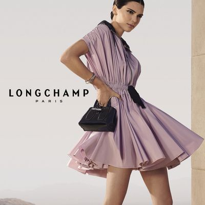 KENDALL JENNER FOR LONGCHAMP SPRING SUMMER 2020 AD CAMPAIGN WITH THE NEW ROSEAU BAG
